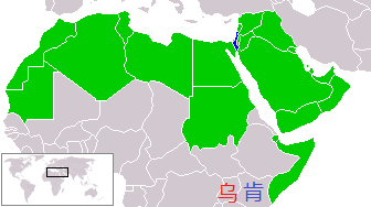 israel_and_arab_states_map