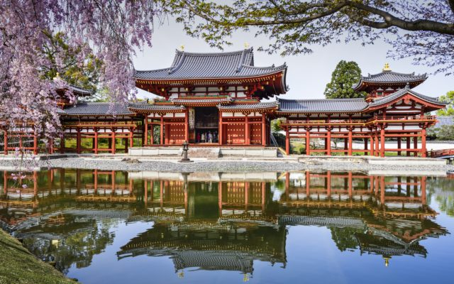 byodo-in-temple-japan-pond-reflection-spring-cherry_2560x1600
